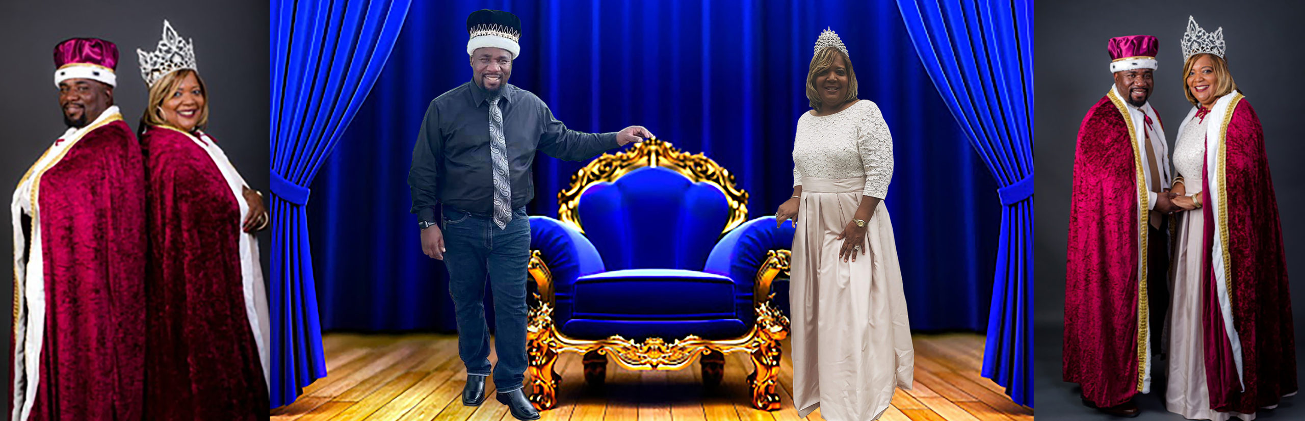2020 King Roy Johnson Jr & Queen Adrienne Hal